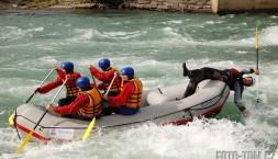 Rafting v Norsku - je to dřina, bavit lidi! ;)