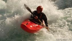 Kajaking na divoké vodě v Norsku - Sjoa, úsek Amot