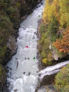 Podzim v Rakousku, kaňon Venter Ache