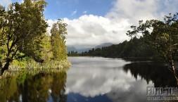 Nový Zéland, jezero Matheson