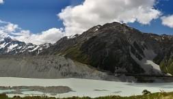 Nový Zéland, Mt Cook panorama