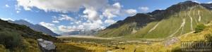 Nový Zéland, jižní ostrov, Alpy