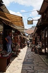 Sarajevská ulička - Bosna a Hercegovina