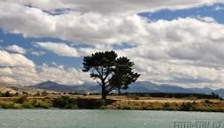 Země dlouhého bílého oblaku Nový Zéland