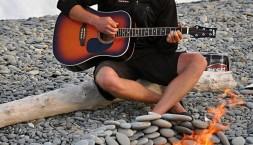 Vánoce na pláži v létě - Nový Zéland