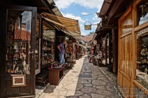 Sarajevské obchody - Bosna