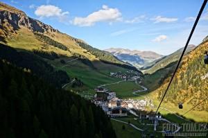 Rakousko, Hintertux údolí