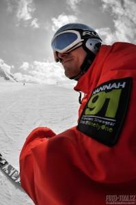 Hannah focení v Alpách