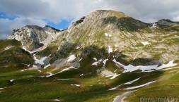 Černá hora - pohoří Durmitor