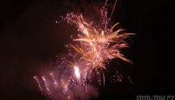 Novoroční ohňostroj v Praze
