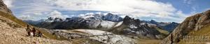 Dolomity - turistika - panorama