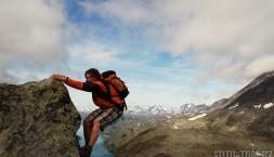 Park Jotunheimen v Norsku, jezero gjende