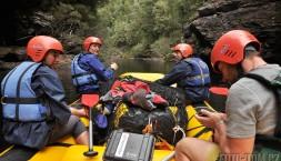 Tasmánie - raftová expedice na Franklin river