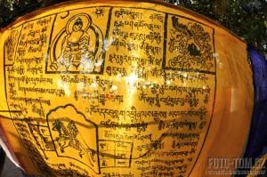 Modlitební parporek - Indie