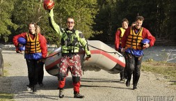 Norsko - rafting na Sjoe - jinak jsme ale fakt v pohodě!