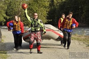 Norsko - rafting na Sjoe - mise NASA úspěšně dokončena!
