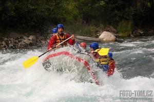 Rafting v Norsku na řece Sjoa