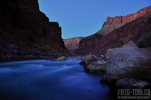 První kouzelné večery v Grand Canyonu