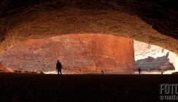 Obří jeskyně Red Wall Cavern