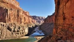 Klasický pohled na Colorado river