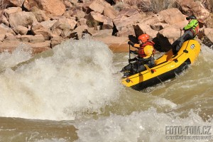 Grand Canyon rafting - Horn creek rapid