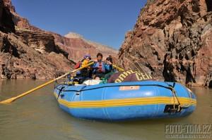 Cargo raft, Grand Canyon, Colorado