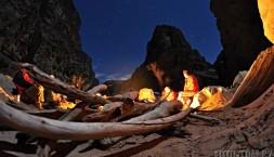 Studené večery trávíme u ohně