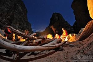 Kampování v Grand Canyonu