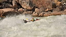 Nájezd do Véčka v Lava Falls