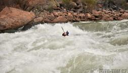 Lava Falls - Na kajaku to bylo jednodušší než to vypadalo