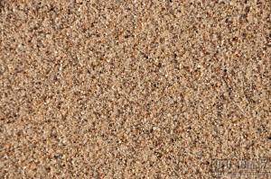 Písek na pláži na břehu Colorada
