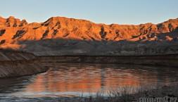 Poslední západ slunce v blízkosti Grand Canyonu