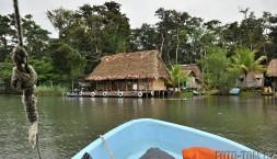 Plavba džunglí z Rio Dulce do Livingstonu