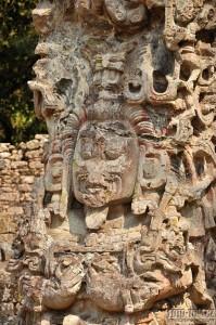 Májské ruiny v Copánu, Honduras, UNESCO