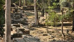 Ruiny Májského města v Copánu