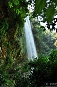 Vodopád Misol-ha, Mexiko
