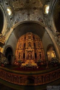 Kostel, Oaxaca, Mexiko
