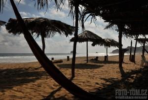 Pohodička na pláži Zippolite, Mexiko