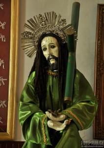 Dredatý svatý v kostele v Mexiku