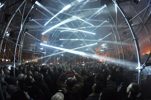 Signal festival 2013 Praha - HyperCube na Staromáku