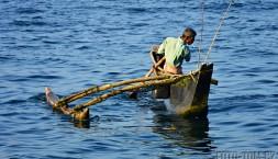 Rybář a jeho běžný pracovní den